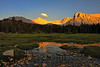 Evening Magic<br /> <br /> (Near Wallace Lake, cross country off the John Muir Trail, near Mt. Whitney, Sequoia National Park)