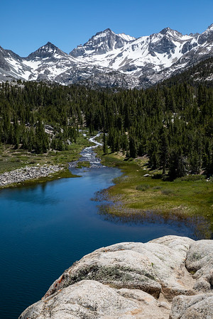 Bear Creek Spire, Mack Lake, and Rock Creek, John Muir Wilderness, California