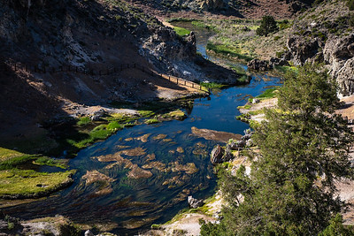 Hot Creek, Location of Outlaw Cabin Scene in Original True Grit Movie, California