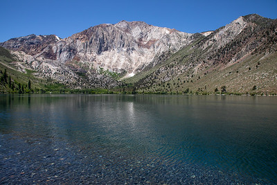 Convict Lake and Sevehah Cliff, John Muir Wilderness, California