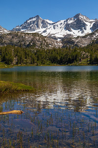 Long Lake and Bear Creek Spire, John Muir Wilderness, California