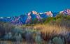 Eastern Sierra sunrise.