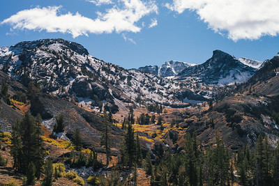 Early fall dusting over Nightcap Peak