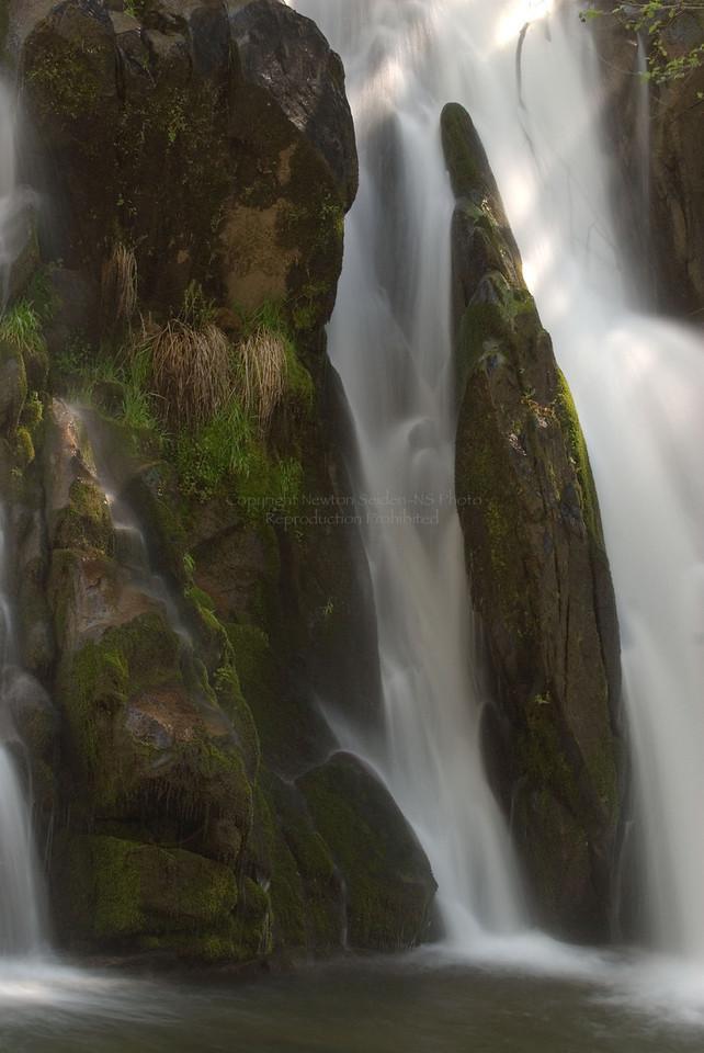 Lewis Creek Falls #3<br /> Yosemite, California