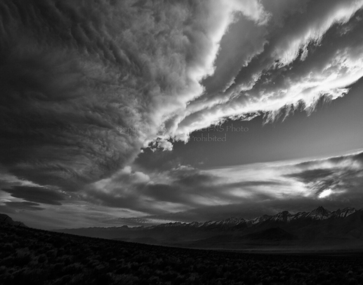 Manzanar Sunset