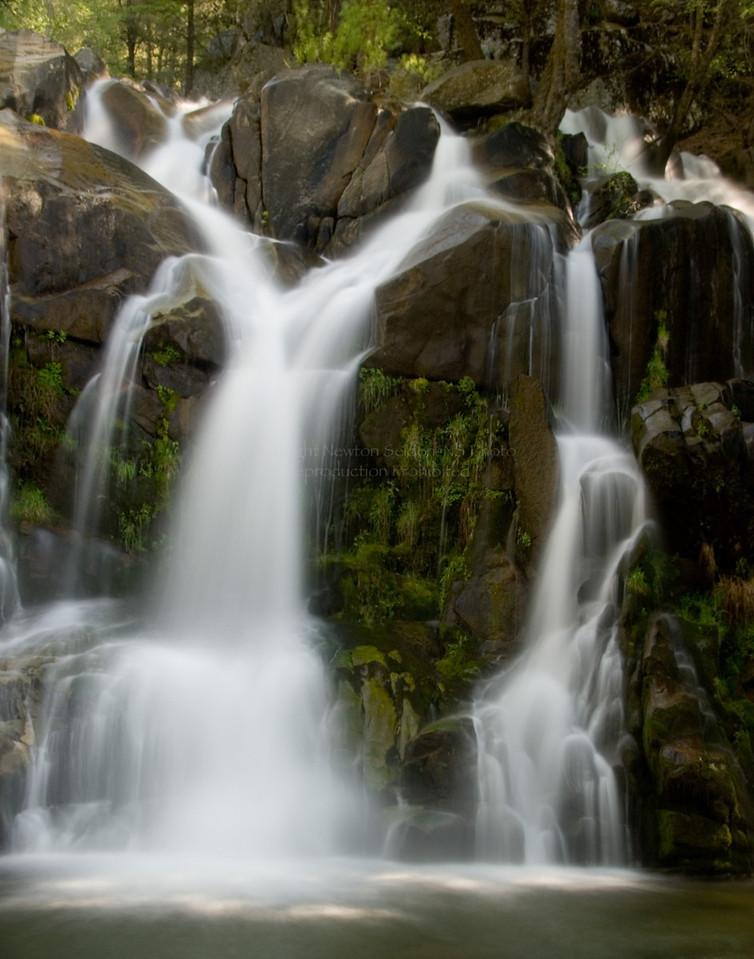 Lewis Creek Falls #2<br /> Yosemite, California