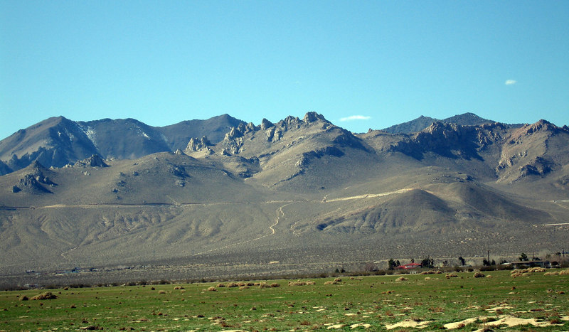 Southern Sierras, Inyokern, 3 Feb 2005