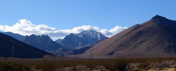 Owens Peak, Pearsonville, 1 Mar 2007