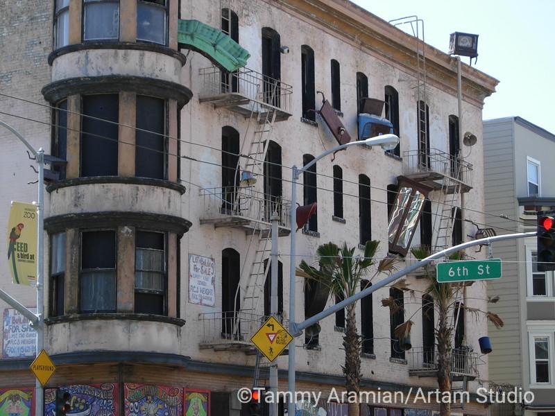 Defenestration, San Francisco, August 2006