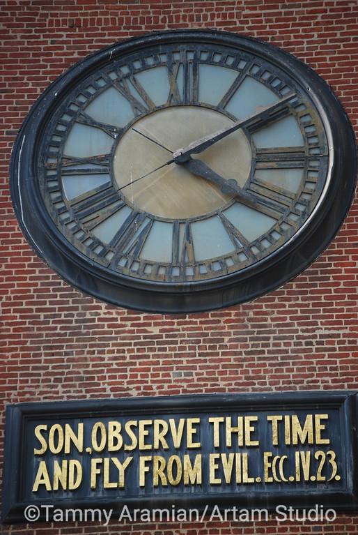 Son, observe the time - Old Saint Mary's, San Francisco