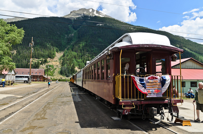 The other end of the Durango-silverton.