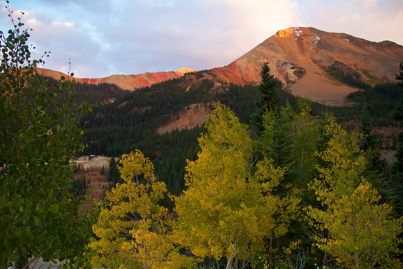 Red Mt in Fall Colors