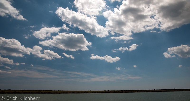 Clouds over the Camargue