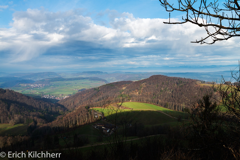 Jura mountains North of Geissflue, Aargau