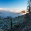 Fog, North of Belchenfluh, Canton Baselland