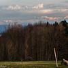 Alps viewed from Linn, Aargau