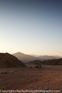 The next few slides follow the sunset over the Sinai mountains and desert. The colours changed so rapidly and the sun set in a matter of minutes,