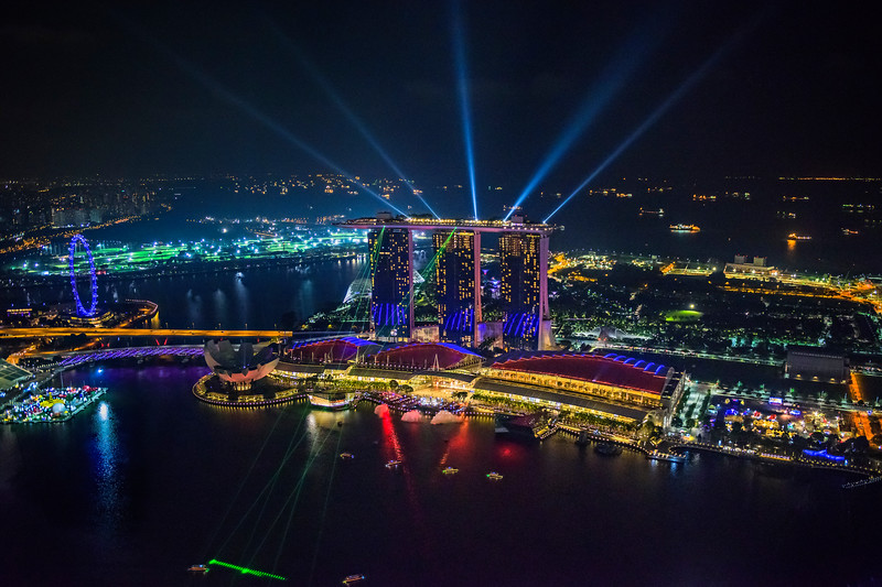Marina-Bay-Sands-at-Night-From-1-Altitde-Singapore-Singapore-Flyer-Night-Photography_D818504-Light-Show-Wonder-Full