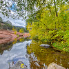Fall on Oak Creek and the Red Rocks