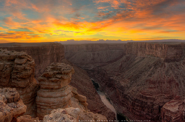Marble Canyon Sunrise Surprise