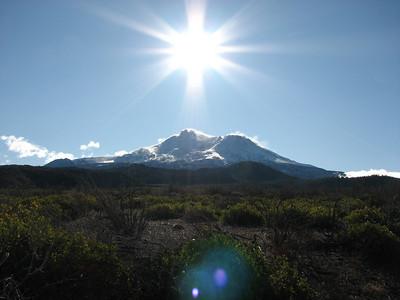 Morning Sunshine at Mount Shasta