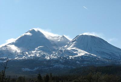 Windy Mount Shasta
