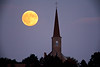 Harvest Moon Over St. Martin's Church, Martinsville, Wisconsin