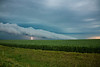 Roll Cloud in Approaching Storm, Cedar County, Iowa