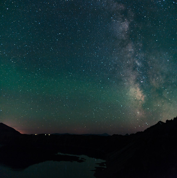 Milky Way - Crater Lake