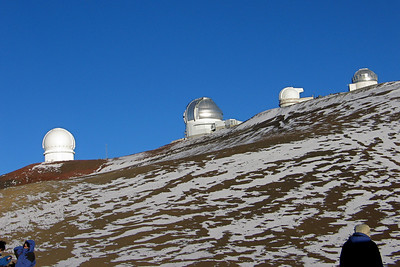 At the Summit of Mauna Kea on the Big Island of Hawaii