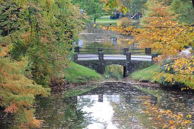 Auburn Lake in Mt. Auburn Cemetery, Cambridge MA