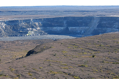Kilauea Caldera on the Big Island of Hawaii
