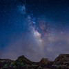 The Milky Way at Trona Pinnacles