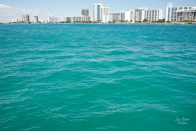 Beautiful day out in Biscayne Bay