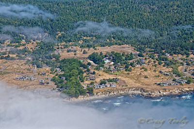 Aerial view of Sea Ranch