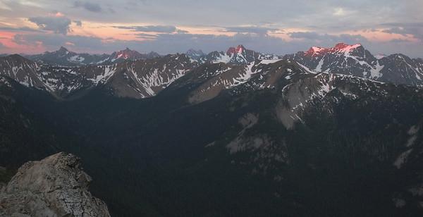 Slate Peak Harts Pass 2013