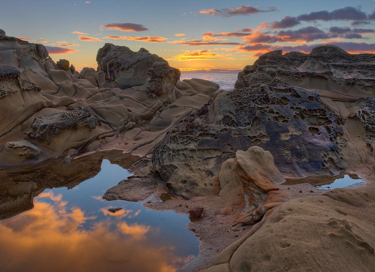 Tefone Formation - Salt Point - Sonoma Coast