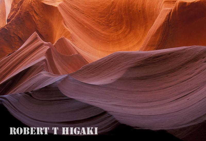 Antelope(Slot) Canyon east of Page, AZ on Navajoland.