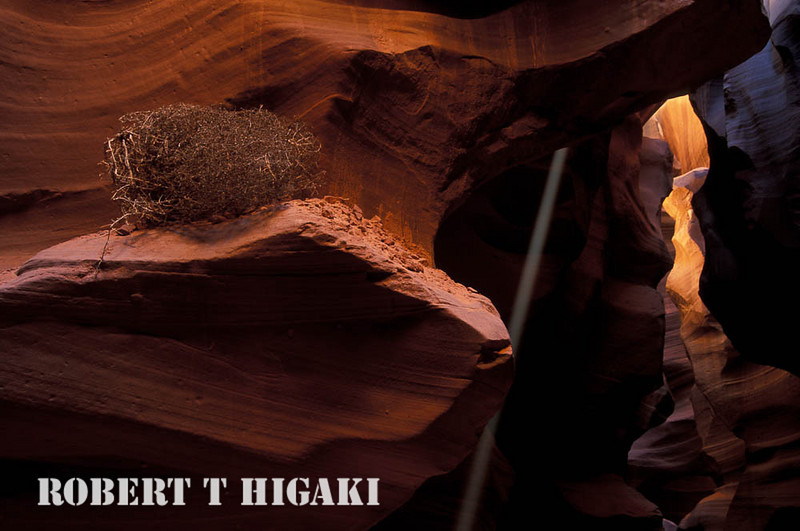 slot canyon- another light beam