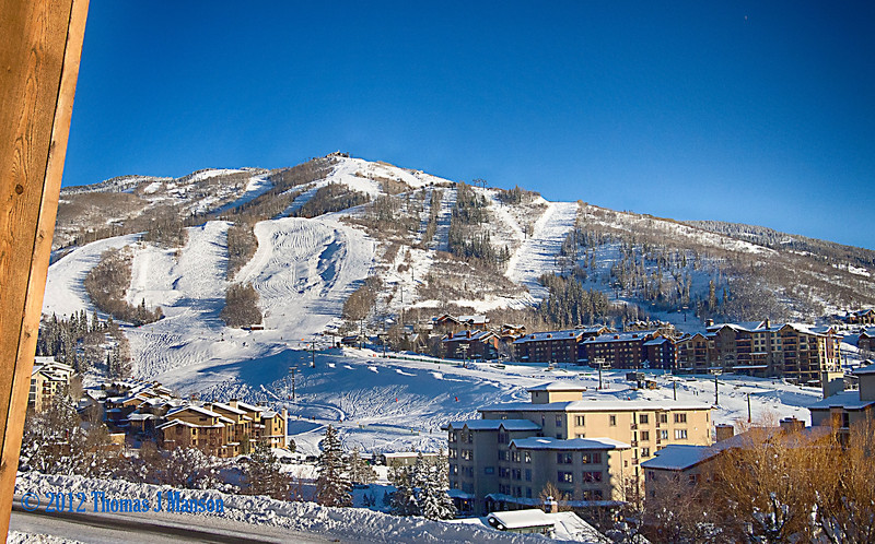 Steamboat Ski Area, December 2012