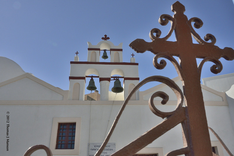 Greek Orthodox Church - Santorini, Greece