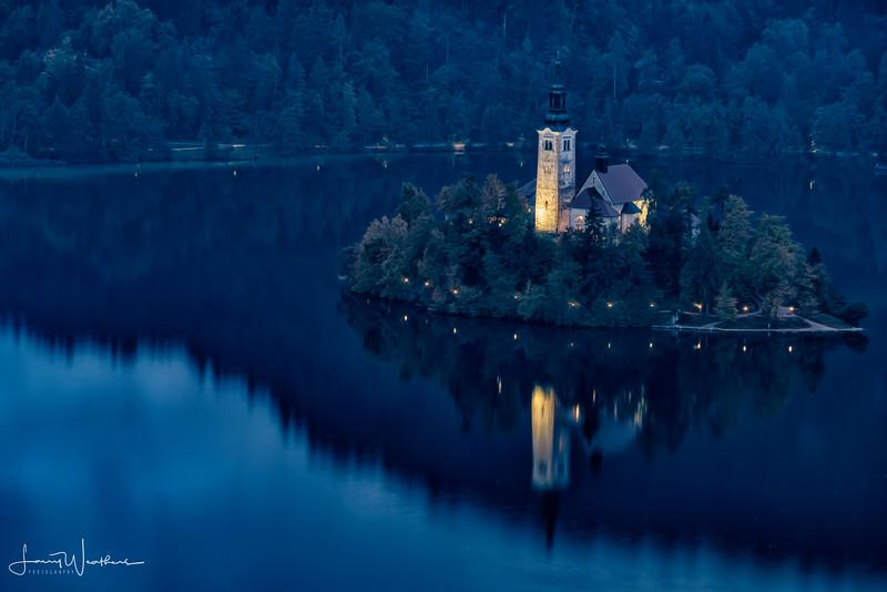 Church of the Assumption-Blue Hour