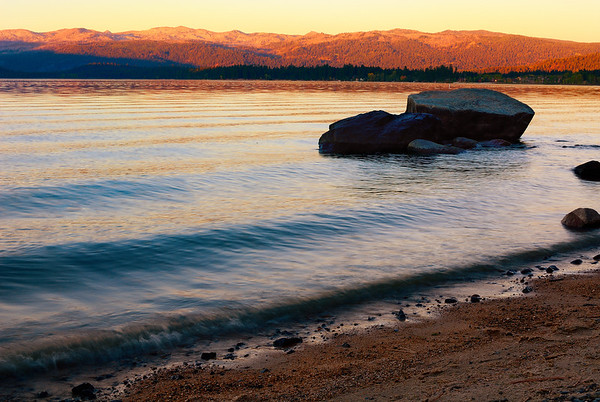 Payette Lake from Rotary Park at Dusk, McCall, Idaho