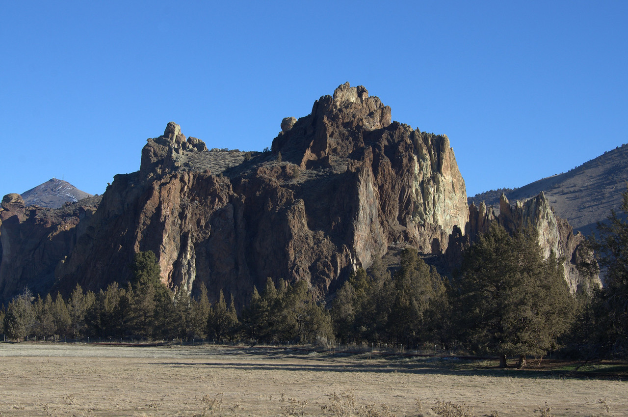 The shear rocks of Smith Rocks State Park makes this a favorite for rock climbers from all over. There are many walking trails also that weave in and out of the rocks.