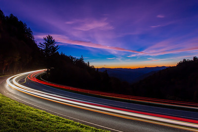 Morning Light Trails