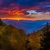 Reprise of Oconaluftee Autumn Sunrise