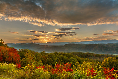Autumn Sunrise on the Parkway