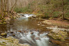 West Prong Falls, West Prong of the Little River, Great Smoky Mountains National Park.