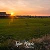 20  G Barn Sunset