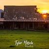 29  G Barn Sunset